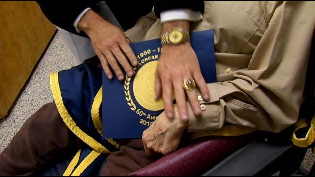 60 Years Later, Oklahoma Korean War Vets Honored By Defense Department