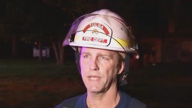 WEB EXTRA: Fire Captain Talks About Unexplained Midtown Blast