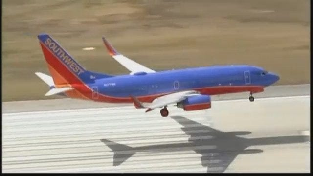 WEB EXTRA: Southwest Airlines Jet Makes Emergency Landing In Vegas After Taking Off For Tulsa