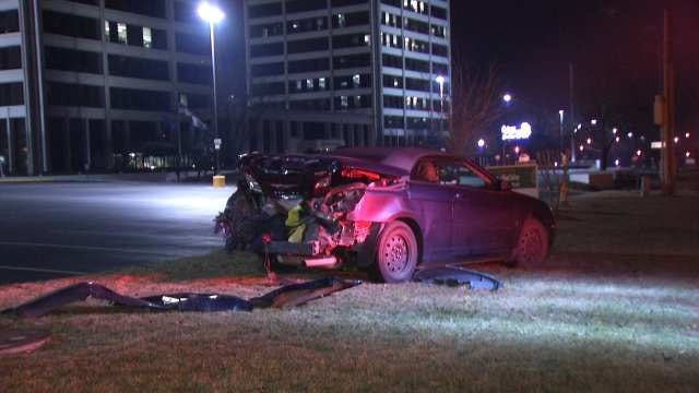 WEB EXTRA: Video From Scene Of Crash On 31st Street Between Sheridan And Yale
