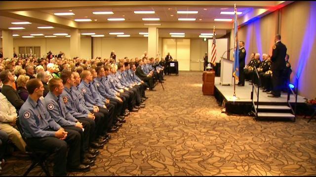 Latest Tulsa Fire Academy Graduation Class Sworn In