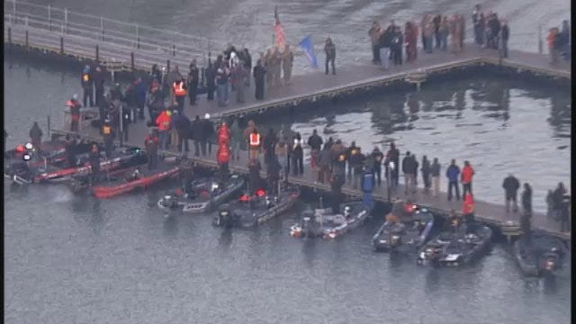 SkyNews6 Video Of Bassmaster Classic National Anthem