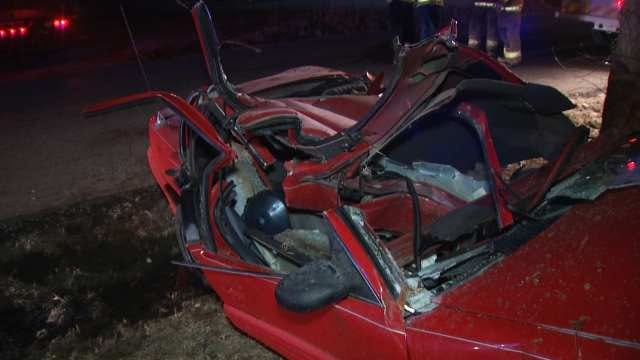 WEB EXTRA: Scenes From Rogers County Wreck