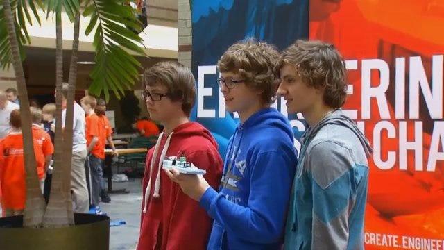 Watch: Dozens Of Students Compete In OSU-Tulsa Engineering Design Challenge