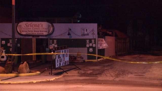 WEB EXTRA: Video From Scene Of Sapulpa Restaurant Building Fire