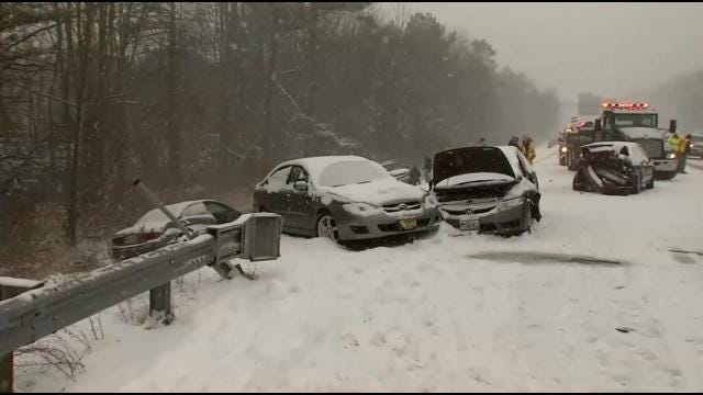 Former Oklahomans In The Northeast Prepare For Winter Storm Nemo