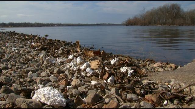 Ahead Of Bassmasters, GRDA Begins Grand Lake Spring Cleaning