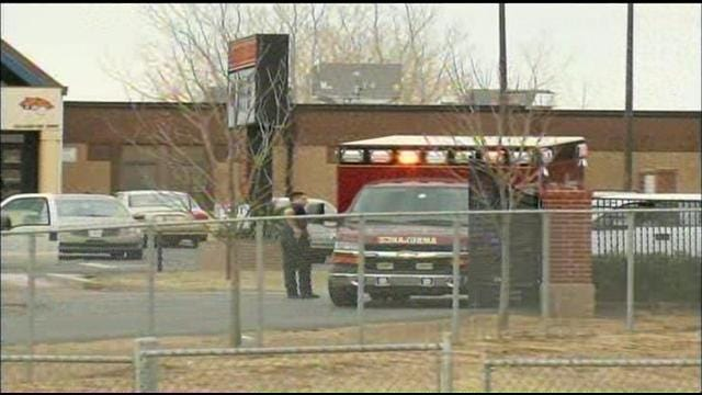 WEB EXTRA: Video From The Scene Outside Coweta Intermediate High School