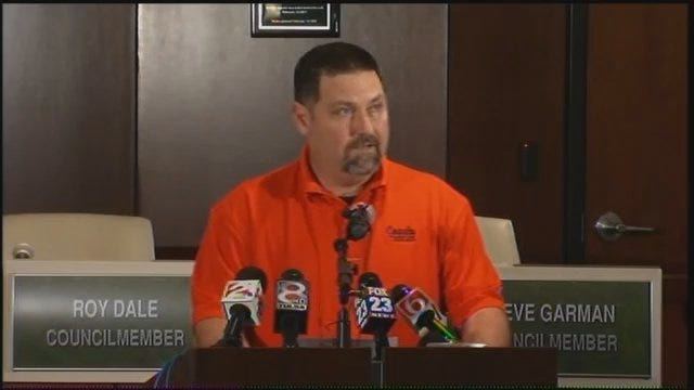 WEB EXTRA: Coweta Public Schools Hold Afternoon Press Conference Pt. 1