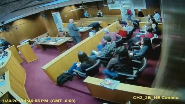 WEB EXTRA: Shawn Kennedy Attacks Lawyer, Witness In Courtroom