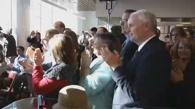 WEB EXTRA: Video From The Griffin Communications Media Center Dedication