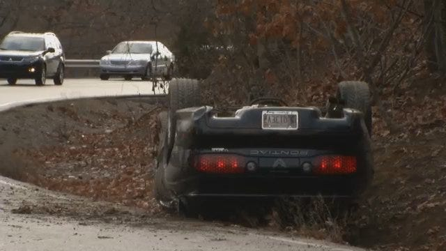 WEB EXTRA: Scenes From Wreck On Keetonville Hill Road