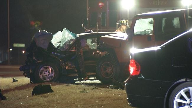 WEB EXTRA: Scenes From Fatal Sand Springs Wreck