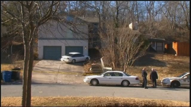 WEB EXTRA: Video From Tulsa Home Where Woman Was Found Dead