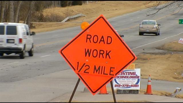 Two New Construction Projects To Slow Traffic On Tulsa's West Side