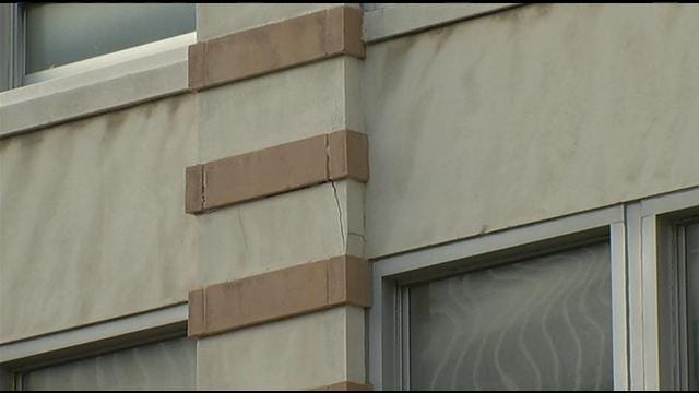 Historic Downtown Building Shut Down One Year After Earthquake