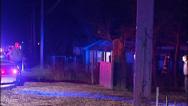 WEB EXTRA: Video From Scene Of West Tulsa Shooting Monday Evening