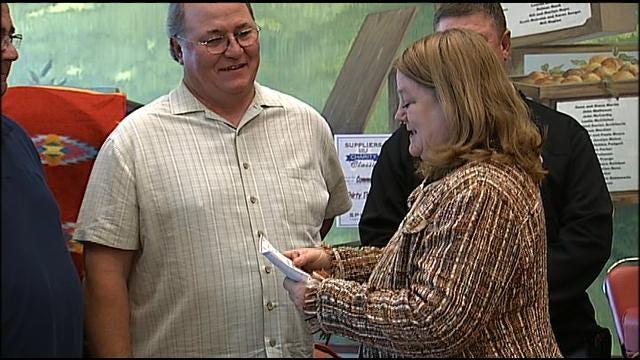 Tulsa Foundation's Pledge Doubles Already Generous Donation To Food Bank