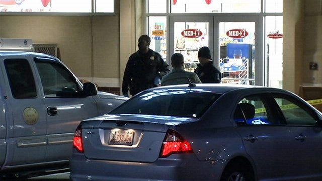 WEB EXTRA: Video From Scene Of West Tulsa Drug Store Robbery