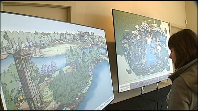 Organizers Release Master Plan For Oklahoma Centennial Botanical Garden