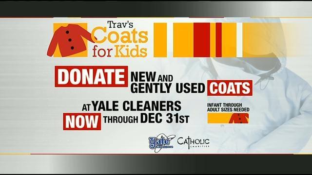 Tulsa Students Donate Nearly 900 Coats To Trav's Coats For Kids