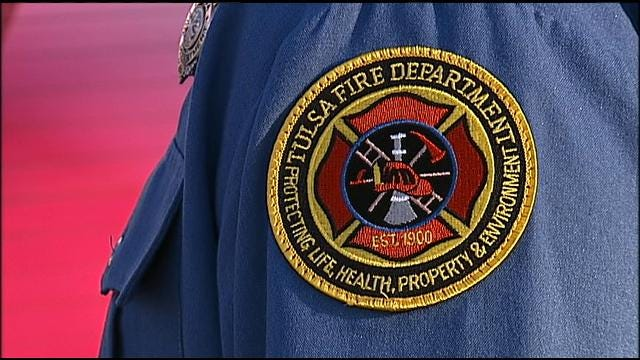 TFD Captain Injured In School Fire Returns To Work