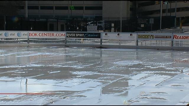 Warm Weather Puts Damper On Winterfest