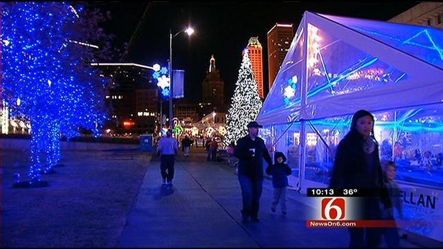 Holiday Season Kicks Off With Start Of Tulsa's Winterfest