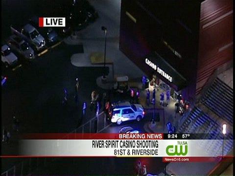 Shots Fired At Tulsa's River Spirit Casino