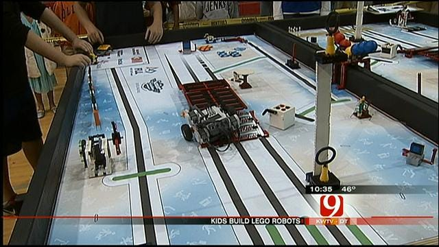 Oklahoma Students Take Part In Lego League Competition In Tulsa