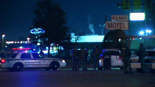 WEB EXTRA: Video From Scene Of Claremore Motel With Tulsa Police Special Operations Team