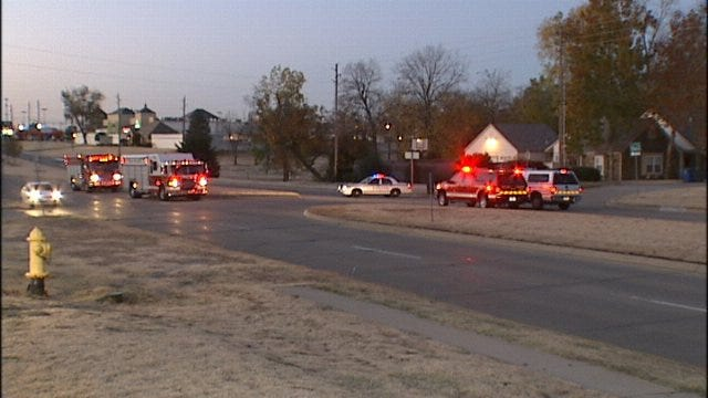 WEB EXTRA: Video From Scene Of South Tulsa Gas Leak