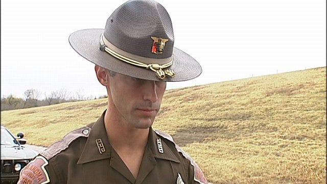 WEB EXTRA: Trooper Talks About Triple-Fatal Wreck Near Sapulpa, Pt. 1