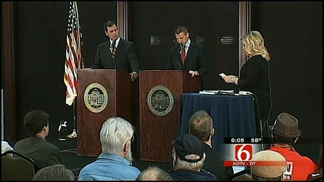 District 2 Candidates, Supporters Watch Election Returns In Muskogee