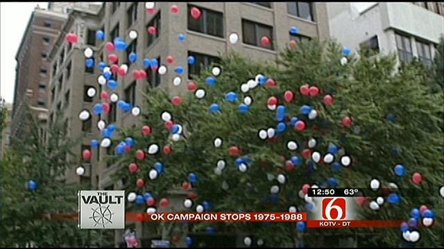 From The KOTV Vault: Famous Politicians Make Campaign Stops In Tulsa