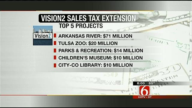 Tulsa County Voters Decide On Vision2 Sales Tax Propositions Tuesday
