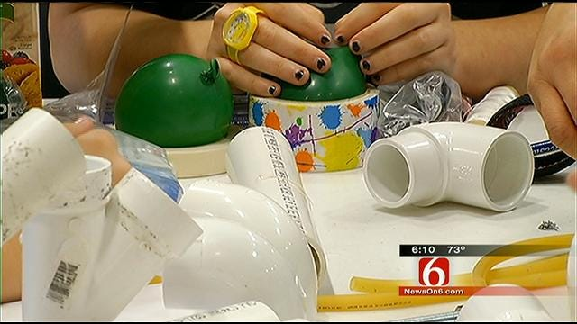 Green Country High School Students Compete In Engineer Games
