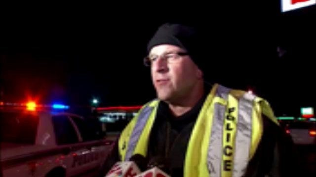 WEB EXTRA: Tulsa Police Cpl. Mike Fitzgerald Talks About Fatal Crash