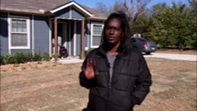 WEB EXTRA: Tamika Brown Talks About Her New Habitat For Humanity Home