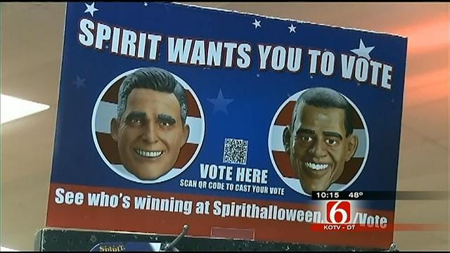 Halloween Costume Chain Predicts Presidential Election By Mask Sales
