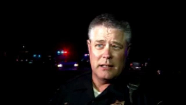 WEB EXTRA: Tulsa Police Sgt. Gary Otterstrom Talks About Shots Fired Arrests