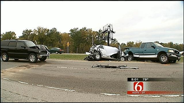 Bixby Man Killed In Crash On Highway 169 Near Owasso