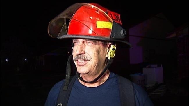 WEB EXTRA: Tulsa Fire Captain Dan Heinrichs Talks About House Fire