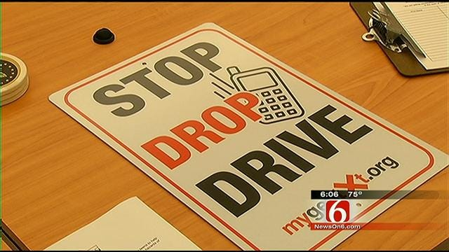 Oklahoma Safety Campaign Targets Texting While Driving