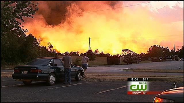 Creek County Wildfire Victims Move Forward; Suspect Still On The Run