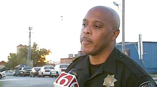 Tulsa Police In Standoff With Murder Suspect