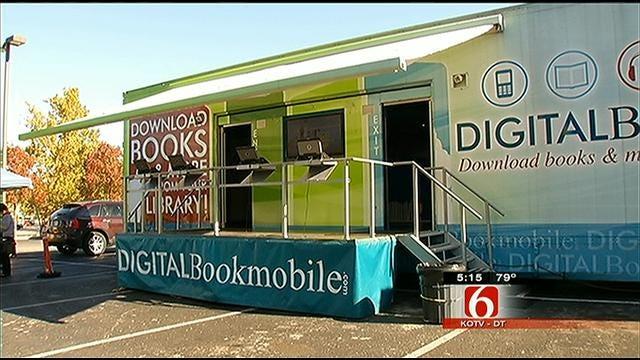 Digital Book Mobile Makes Borrowing Books Even Easier