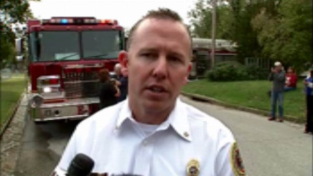 WEB EXTRA: Tulsa Fire Captain Jeremy Moore Talks About The Fire