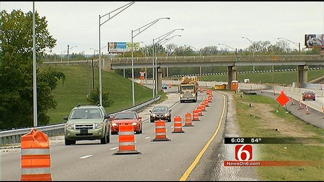 Big Changes Starting Monday For Tulsa Drivers On Eastbound I-244
