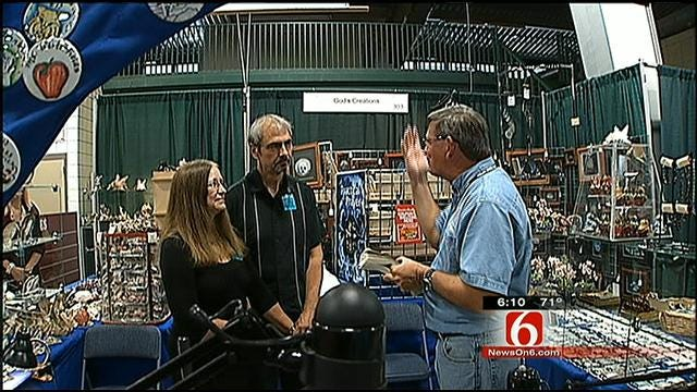 Tulsa Couple Celebrates 40 Years Of Marriage At Tulsa State Fair